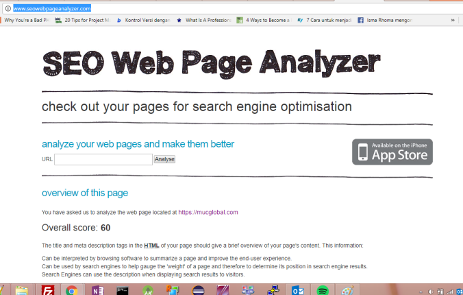 seo web analyzer